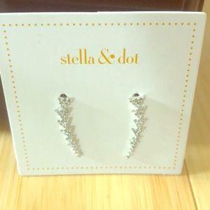 Stella & Dot ear climbers